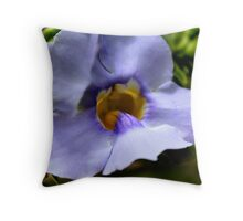 Variegated Sky Vine Throw Pillow