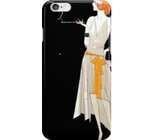 Vintage Where There's Smoke There's Fire iPhone Case/Skin