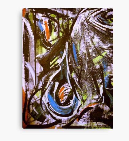 big teardrop.... smallest of eyes Canvas Print