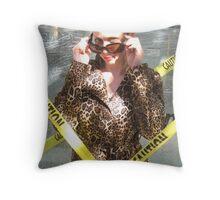 Fancy girl Throw Pillow