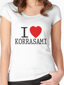 I <3 KORRASAMI Women's Fitted Scoop T-Shirt