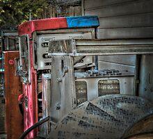 Bill's Old Gas Pumps by SRLongstroth