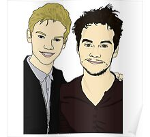Thomas Brodie-Sangster and Dylan O'Brien Poster