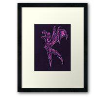 K is for Komodo Ballerina  Framed Print