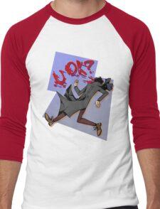 Sherlock: u ok? Men's Baseball ¾ T-Shirt