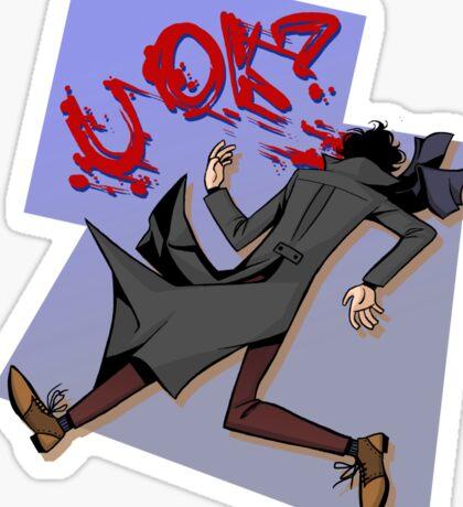 Sherlock: u ok? Sticker