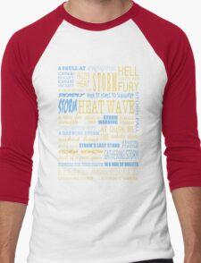 Richard Castle v3 Men's Baseball ¾ T-Shirt