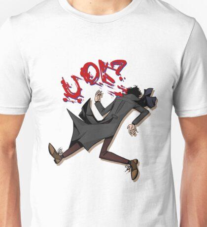 Sherlock: u ok? (without background) Unisex T-Shirt
