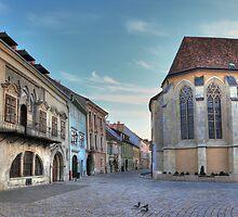 Sopron street III by zumi