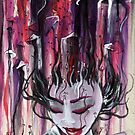 Geisha in Mushrooms: The Surrealistic Concubine by Barbora  Urbankova