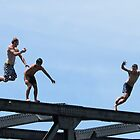 bridge jumpers by Anne Scantlebury