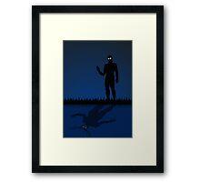 A Darker Self Framed Print