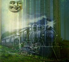 MR MOON AND GHOST TRAIN by Tammera