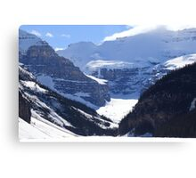 Snowy wall Canvas Print