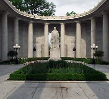 William McKinley National Memorial by Sandra Lee Woods