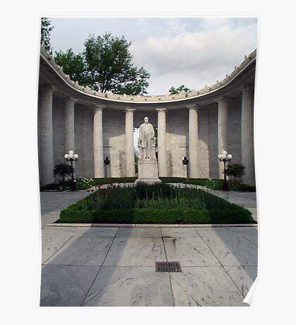 William McKinley National Memorial Poster