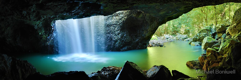 Natural Bridge, Springbrook National Park, Queensland, Australia by Michael Boniwell