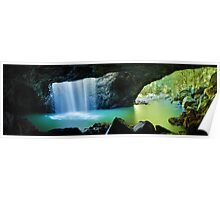 Natural Bridge, Springbrook National Park, Queensland, Australia Poster