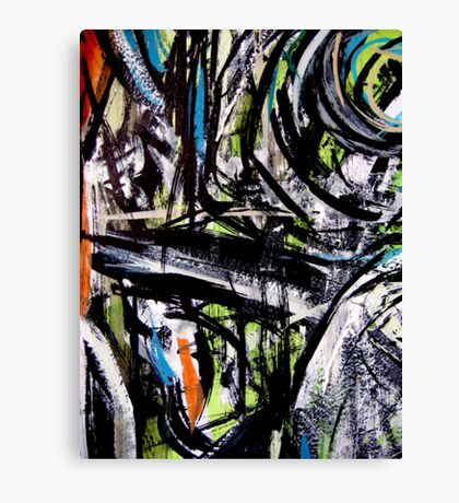 ravine... mind crossing Canvas Print