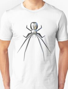 Chrome black widow design2 T-Shirt