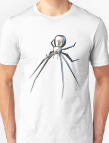 Chrome black widow design3 T-Shirt
