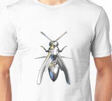Chrome wasp (yellow jacket) design 4 Unisex T-Shirt