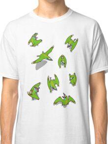 Tiny Pterosaur Bunch (Nemicolopterus) Classic T-Shirt