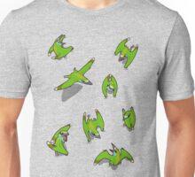 Tiny Pterosaur Bunch (Nemicolopterus) Unisex T-Shirt