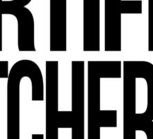 Certified Hutcherfan Sticker