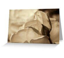 Romance in  sepia - Hope Greeting Card