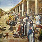 The Roman Cardo, Jewish Quarter, Jerusalem, Israel by Nira Dabush
