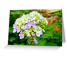 The start of something wonderful - greeting card Greeting Card