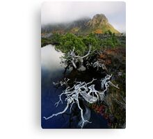 Highlands Tarn and Cradle Peaks Canvas Print