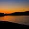 The Sun is almost gone Wivenhoe Dam by Jaxybelle