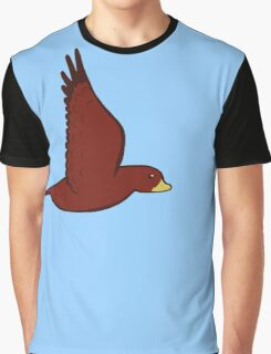 Little Red Birdy Graphic T-Shirt