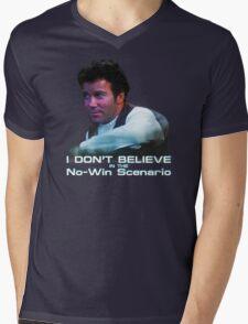 I Don't Believe in the No-Win Scenario Mens V-Neck T-Shirt