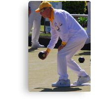 M.B.A. Bowler no. a181 Canvas Print