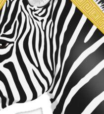 Trojan Zebra Sticker