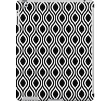 Modern Classic Black Pattern iPad Case/Skin