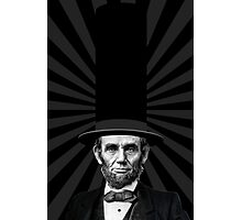 Abraham Lincoln Presidential Fashion Statement Photographic Print