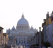 San Pietro in Vatican by Ben Fatma Marc