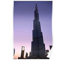Burj Khalifa Dusk Poster