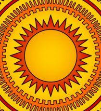 Blazing Sun Sticker