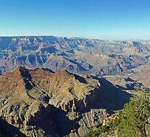 Grand Canyon Panorama by DarthIndy