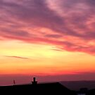 """"""" Sunset from our front Door last evening"""" by mrcoradour"""