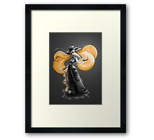Rainbow Punk: Tangerine Plague Framed Print