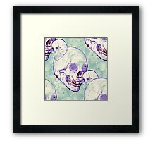 Keeping it Skully Framed Print