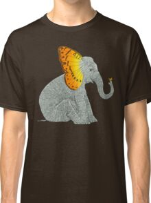 Elephant and Butterfly Classic T-Shirt