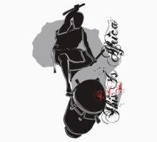 African Drummer III One Piece - Short Sleeve