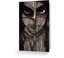 Insomnia 2 - Sepia Greeting Card